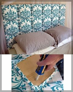 54 DIY Headboard Ideas to Make Your Dream Bedroom - Snappy Pixels by JustLinnea