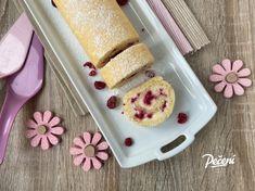 Vanilková roláda s malinami - Víkendové pečení Mini Pavlova, Mini Cheesecakes, Cereal, Pudding, Breakfast, Desserts, Food, Salads, Morning Coffee