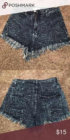 High waisted shorts Super cute high waisted daisy dukes Shorts Jean Shorts