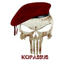 Lambang kopassus personil tni ad military insignia special forces dan army - Wallpaper kopaska ...
