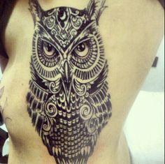 #owl #mytattoo #black
