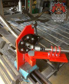 Торцеватель для труб BigBender TN76 | BigBender TN76 tubing notcher