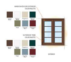 colors spanish colonial paint exterior schemes