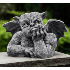 Campania International Grumblethorpe Cast Stone Garden Statue Pietra Vecchia - S-479-PV