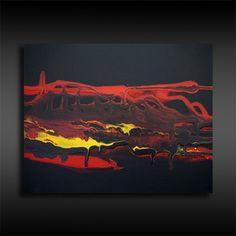 Acrylmalerei - Originale abstrakte Malerei Fluid Painting Bild 5 - ein Designerstück von BrigitteKoenig bei DaWanda