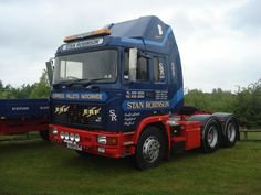 ERF - TRUCK Bus, British, Trucks, Vehicles, Animals, Europe, Tractors, Truck, Animales