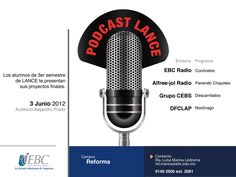 LANCE invita a escuchar sus podcast en Campus Reforma