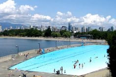 Discover all the summer fun Vancouver, British Columbia has to offer! Vancouver has something for every age group to enjoy during the summer months. Alberta Canada, O Canada, Canada Travel, Canada Vancouver, Granville Island, Great Days Out, Alaska Cruise, Outdoor Pool, British Columbia