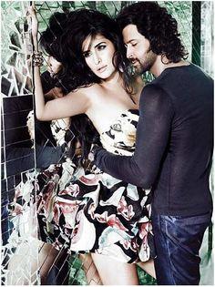 Hrithik Roshan and Katrina Kaif in Harper's Bazaar Magazine