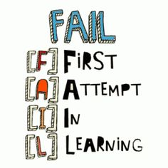 Famous quotes and sayings about learning from your failures