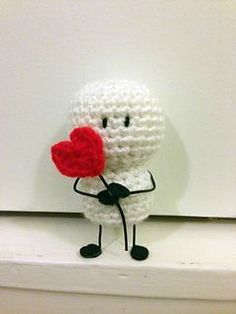 Bigli Migli was created by Sepideh Davoodi. This character is my favorite because he looks so sweet and simple. I hope you will enjoy crocheting him.