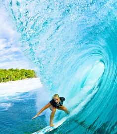 'I don't need easy. I just need possible.' ~ The Soul Surfer.   Bethany Hamilton. A girl whose left arm was bitten off by a shark but later on conquered the Surfing sport and turned out to be a Pro Surfer. Simply inspiring.