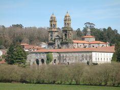 A Coruña: Monasterio de Sobrado dos Monxes. --- Monastère de Sobrado dos Monxes.