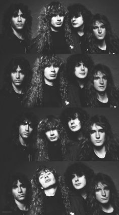 Megadeth 80's