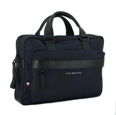 Nylons, Tommy Hilfiger, Gym Bag, Bags, Laptop Tote, Dark Blue, Shoulder, Handbags, Nylon Stockings