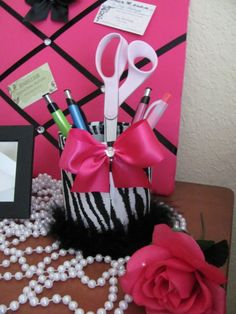 Memo Memory Hair Bow Photo 3 PC Desk Bedroom by SoZoeyBoutique, $29.90