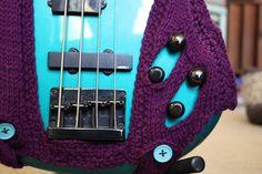 Knit Bass Guitar Sweater!