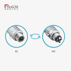 Tealth Medical Low speed dental external channel air motor handpiece