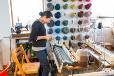 """Inside the Tiny Socttish Knitwear Studio That Chanel Couldn´t Resist by Nicholas Tufnell """"Mati Ventrillon knits traditional Fair Isle sweaters the old-fashioned way. That's the allure."""""""