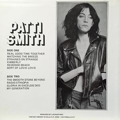 #pattiSmith #liveattheroxy #fantasydiscos