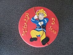 brandweerman sam taart | by Ria Homemade