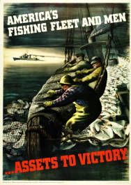 Military Poster / Print: Fish is a fighting food:... | Pritzker Military Museum & Library | Chicago
