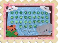 Vamos receber as crianças com muita alegria!!!     Esse lindo hipopótamo irá ajudar na hora de sabermos como está o tempo....      O tigre...