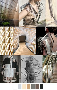 F/W pattern & colors trends: structural design art Fashion Colours, Colorful Fashion, Design Web, Design Trends, Design Color, Color 2017, Design Textile, Fashion Forecasting, 2016 Trends