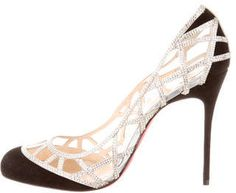 Christian Louboutin Cage Pierre Strass 100 Pumps- 7112style.website -