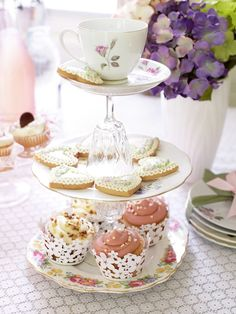 Tea Party with Maxine Brady ♥