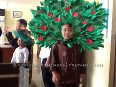 Cool Little Tree Costume... Coolest Homemade Costume Contest