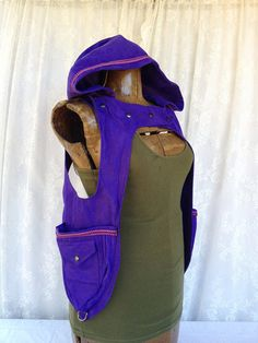 Cool idea! Little Red Riding Hood pocket vest holster by bluemoonkatherine