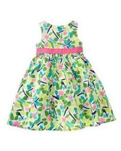 ce411c38cc1c Gymboree Linen Casual Sleeve Dresses (Newborn-5T) for Girls | eBay