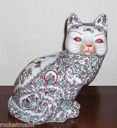 Ceramic cat, Chinese