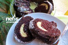 İçi Krem Peynirli Çikolatalı Kek