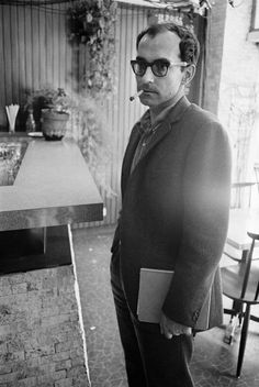 Jean-Luc Godard ..........We share our birthday
