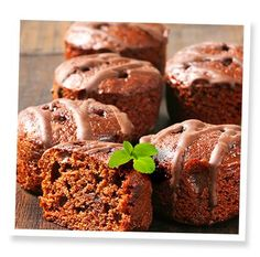 Stevia Mini Chocolate Chunk Cupcakes | SweetLeaf®