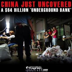 Stillness in the Storm : China Just Uncovered a $64 Billion 'Underground Ba...