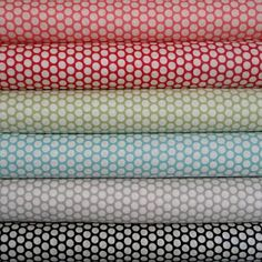 Kei fabrics from Japan :Kei Honeycomb Dots