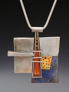 Sterling Silver Jewelry ATL / LAX Series - Wearable Architectrual Constructs by Marks Alexander, via Behance - Enamel Jewelry, Metal Jewelry, Pendant Jewelry, Jewelry Art, Sterling Silver Jewelry, Fine Jewelry, Jewelry Making, Silver Ring, Silver Earrings