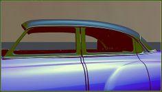 habana car - detail Car Detailing, Cuba, 3d, Design