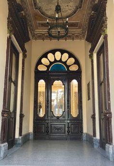 Zaguán antiguo de Asunción-Paraguay