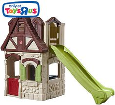 Step2 A Place of Their Own Two-Story Playhouse