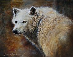 """Joanna Garcia's """"Pack of One"""" takes Best in Show for the 2010 George Montgomery NRA Youth Wildlife Art Contest. Will hang in U.S. Capital Building for a year thanks to Rep. Roscoe Bartlett."""