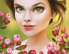 "Check out new work on my @Behance portfolio: ""Blooming spring"" http://be.net/gallery/45155005/Blooming-spring"