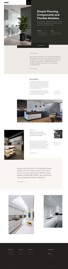 #website #webdesign #web #design #inspiration #ui #uiinspiration #ux #layout #typography #grid #simple #minimal #photography #architecture #kitchen #responsive #webdesigninspiration