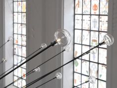 "PSLab's ""lion fish"" chandelier adds the finishing touch to The Jane Antwerp 