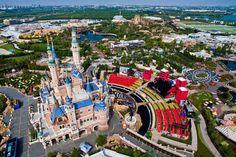 Algemene informatie over Shanghai Disney Resort Attraction, Shanghai Disney Resort, New China, Reportage Photo, Big Ben, Images, Travel, Openness, China