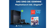 111 x PlayStation®4 inkl. SingStar® Ultimate Party