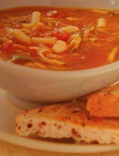 Minestrone ili velika supa na italijanskom - odličan i zdrav obrok kako za odrasle, tako i za decu. #recepti #kuvar